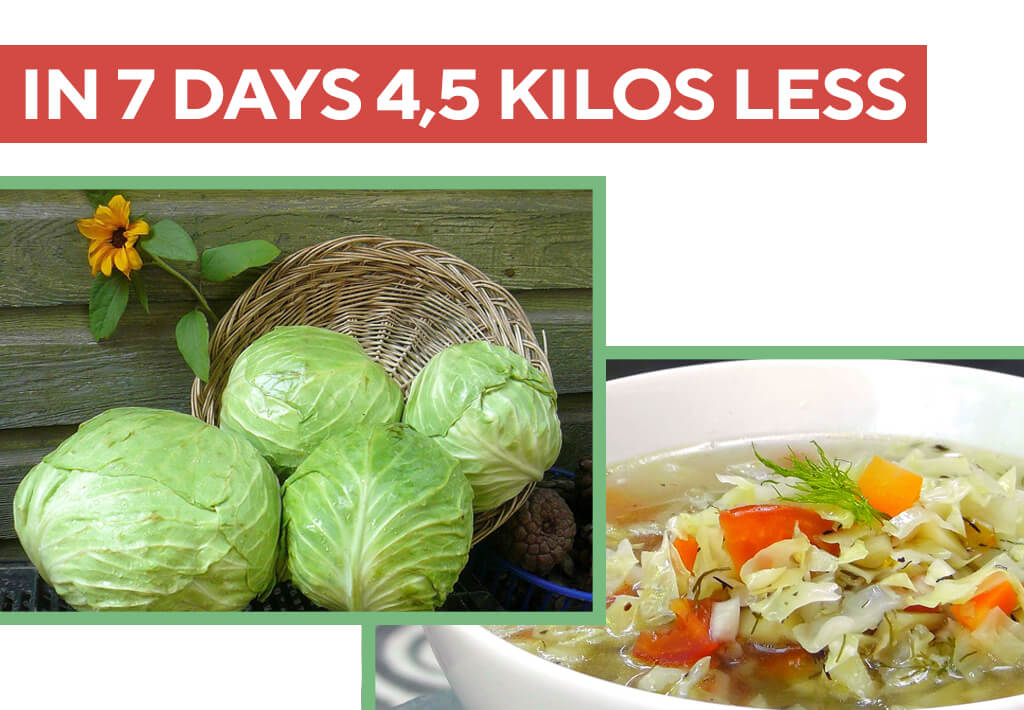 The cabbage soup diet menu