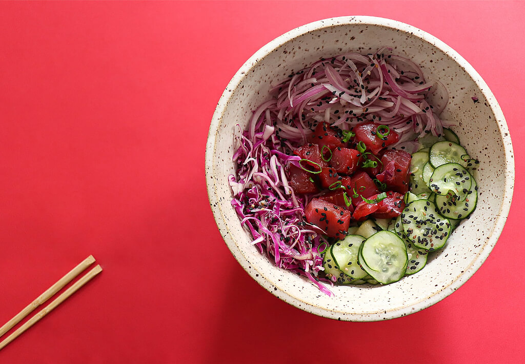 Diets based on red cabbage